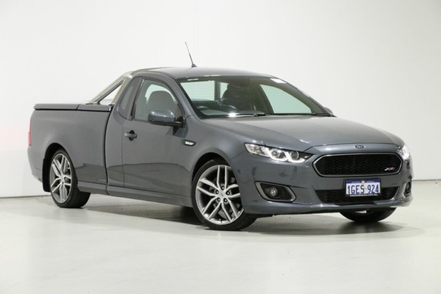 Used Ford Falcon FG X XR6T, 2015 Ford Falcon FG X XR6T Grey 6 Speed Manual Utility