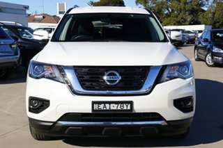 2017 Nissan Pathfinder R52 MY17 Series 2 ST (4x4) White Continuous Variable Wagon