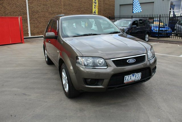 Used Ford Territory SY MkII TX (RWD), 2010 Ford Territory SY MkII TX (RWD) Brown 4 Speed Auto Seq Sportshift Wagon