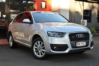 2013 Audi Q3 8U MY13 TFSI S Tronic Quattro Metallic Silver 7 Speed Sports Automatic Dual Clutch.