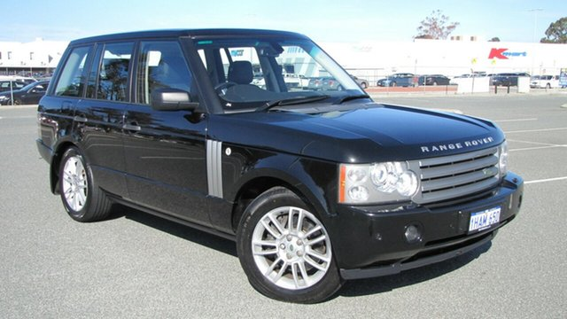 Used Land Rover Range Rover Vogue L322 10MY TDV8, 2009 Land Rover Range Rover Vogue L322 10MY TDV8 Black 6 Speed Sports Automatic Wagon