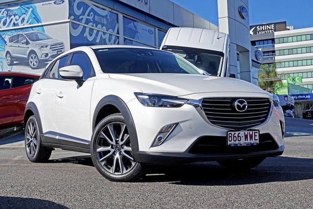 Used Mazda CX-3 DK2W76 Akari SKYACTIV-MT, 2016 Mazda CX-3 DK2W76 Akari SKYACTIV-MT White 6 Speed Manual Wagon