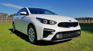 2020 Kia Cerato BD MY20 S Clear White 6 Speed Automatic Hatchback.