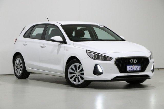 Used Hyundai i30 PD MY19 GO 1.6 CRDi, 2019 Hyundai i30 PD MY19 GO 1.6 CRDi White 7 Speed Auto Dual Clutch Hatchback