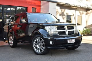 2010 Dodge Nitro KA MY09 SX Black 4 Speed Automatic Wagon