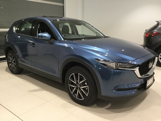 Used Mazda CX-5 KF4WLA GT SKYACTIV-Drive i-ACTIV AWD, 2019 Mazda CX-5 KF4WLA GT SKYACTIV-Drive i-ACTIV AWD Eternal Blue 6 Speed Sports Automatic Wagon