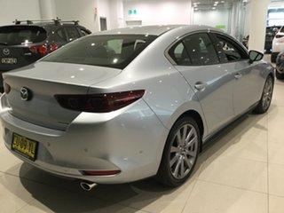 2019 Mazda 3 BP2SLA G25 SKYACTIV-Drive GT Sonic Silver 6 Speed Sports Automatic Sedan.