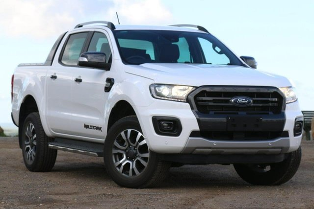 Used Ford Ranger PX MkIII 2019.00MY Wildtrak Pick-up Double Cab, 2019 Ford Ranger PX MkIII 2019.00MY Wildtrak Pick-up Double Cab White 6 Speed Sports Automatic
