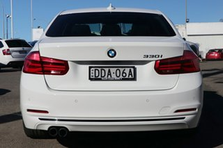 2016 BMW 3 Series F34 LCI 330i Gran Turismo Sport Line White 8 Speed Sports Automatic Hatchback