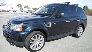 2009 Land Rover Range Rover Sport L320 09MY TDV6 Blue 6 Speed Sports Automatic Wagon