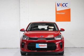 2018 Kia Rio YB MY19 S Red 4 Speed Sports Automatic Hatchback.