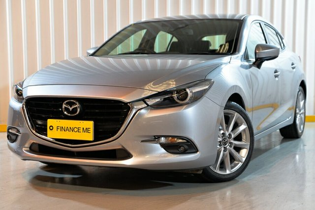 Used Mazda 3 BN5436 SP25 SKYACTIV-MT GT, 2016 Mazda 3 BN5436 SP25 SKYACTIV-MT GT Silver 6 Speed Manual Hatchback
