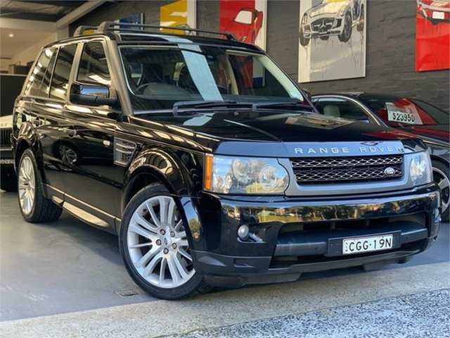 Used Land Rover Range Rover Sport  TDV6 Luxury, 2010 Land Rover Range Rover Sport L320 TDV6 Luxury Black Sports Automatic Wagon