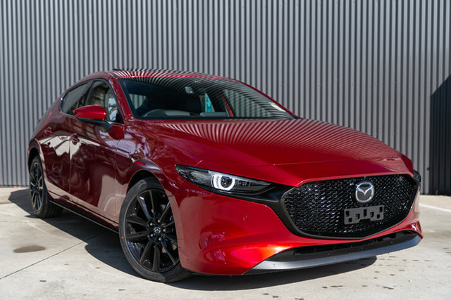 Demo Mazda 3 BP2HLA G25 SKYACTIV-Drive Astina, 2020 Mazda 3 BP2HLA G25 SKYACTIV-Drive Astina Soul Red Crystal 6 Speed Sports Automatic Hatchback