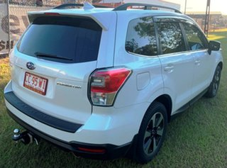 2017 Subaru Forester S4 MY18 2.5i-L CVT AWD White 6 Speed Wagon.