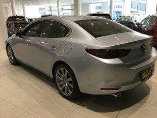 2019 Mazda 3 BP2SLA G25 SKYACTIV-Drive GT Sonic Silver 6 Speed Sports Automatic Sedan