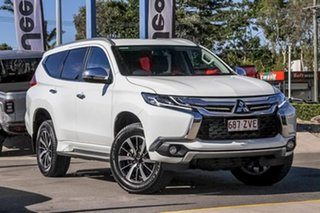 2019 Mitsubishi Pajero Sport QE MY19 GLS White 8 Speed Sports Automatic Wagon.