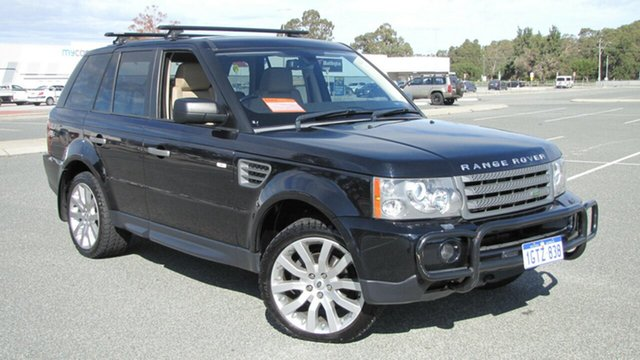 Used Land Rover Range Rover Sport L320 09MY TDV6, 2009 Land Rover Range Rover Sport L320 09MY TDV6 Blue 6 Speed Sports Automatic Wagon