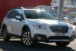 2016 Subaru Outback B6A MY16 2.5i CVT AWD Premium White 6 Speed Constant Variable Wagon.