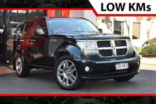 2010 Dodge Nitro KA MY09 SX Black 4 Speed Automatic Wagon.