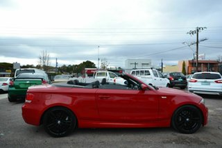 2008 BMW 135i E88 Red 6 Speed Automatic Convertible.