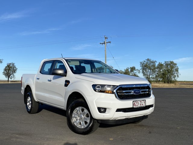Used Ford Ranger PX MkIII 2020.25MY XLS Pick-up Double Cab, 2020 Ford Ranger PX MkIII 2020.25MY XLS Pick-up Double Cab Arctic White 6 Speed Sports Automatic