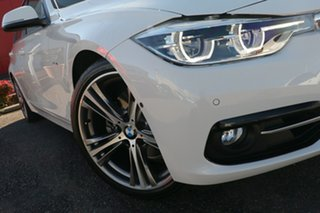 2016 BMW 3 Series F34 LCI 330i Gran Turismo Sport Line White 8 Speed Sports Automatic Hatchback.