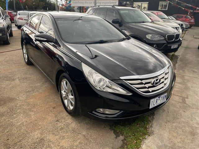 Used Hyundai i45 YF MY11 Elite, 2012 Hyundai i45 YF MY11 Elite Black 6 Speed Sports Automatic Sedan
