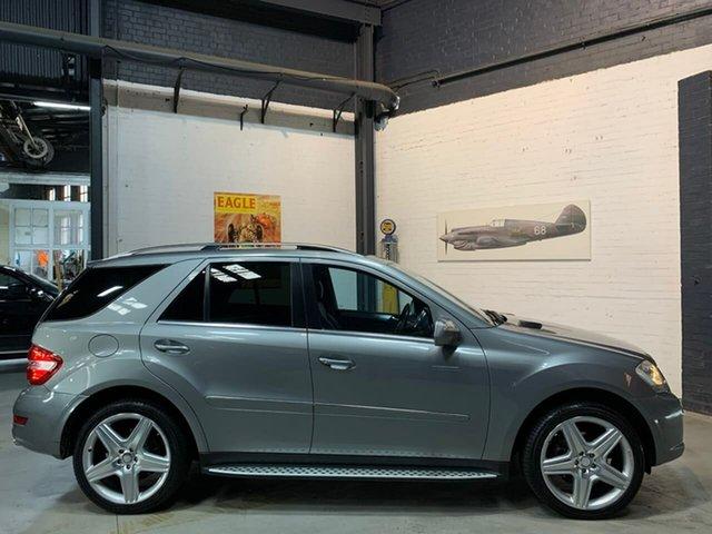 Used Mercedes-Benz M-Class W164 MY10 ML350 AMG Sports, 2009 Mercedes-Benz M-Class W164 MY10 ML350 AMG Sports Grey 7 Speed Sports Automatic Wagon