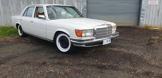 Used Mercedes-Benz 280 W116 SE, 1975 Mercedes-Benz 280 W116 SE White 4 Speed Automatic Sedan