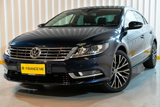 Used Volkswagen CC Type 3CC MY14 130TDI DSG, 2014 Volkswagen CC Type 3CC MY14 130TDI DSG Blue 6 Speed Sports Automatic Dual Clutch Coupe