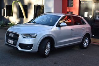 2013 Audi Q3 8U MY13 TFSI S Tronic Quattro Metallic Silver 7 Speed Sports Automatic Dual Clutch