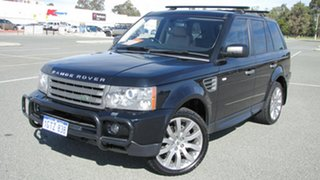 2009 Land Rover Range Rover Sport L320 09MY TDV6 Blue 6 Speed Sports Automatic Wagon.