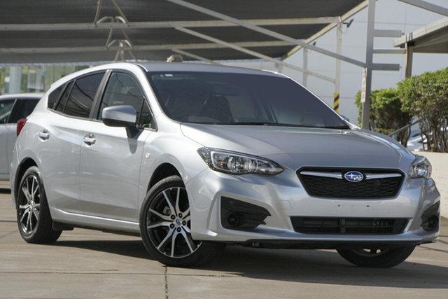 Used Subaru Impreza G5 MY18 2.0i CVT AWD, 2018 Subaru Impreza G5 MY18 2.0i CVT AWD Silver 7 Speed Hatchback