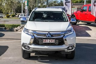 2019 Mitsubishi Pajero Sport QE MY19 GLS White 8 Speed Sports Automatic Wagon