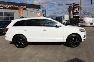 2013 Audi Q7 MY14 3.0 TDI Quattro White 8 Speed Automatic Tiptronic Wagon