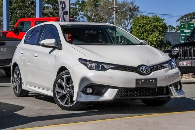 Used Toyota Corolla ZRE182R SX S-CVT, 2018 Toyota Corolla ZRE182R SX S-CVT White 7 Speed Constant Variable Hatchback