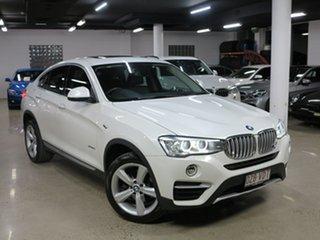 2014 BMW X4 F26 xDrive20i Coupe Steptronic White 8 Speed Automatic Wagon.