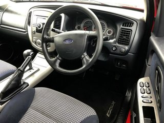 2007 Ford Escape ZC XLS Red 4 Speed Automatic Wagon