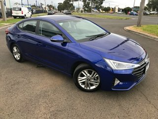 2019 Hyundai Elantra AD.2 MY19 Active Blue 6 Speed Sports Automatic Sedan.