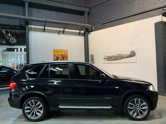 Used BMW X5 E70 MY12.5 xDrive30d Steptronic, 2012 BMW X5 E70 MY12.5 xDrive30d Steptronic Black 8 Speed Sports Automatic Wagon