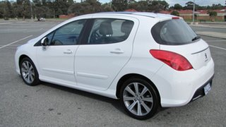 2013 Peugeot 308 T7 MY13 Allure White 6 Speed Sports Automatic Hatchback