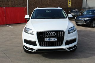 2013 Audi Q7 MY14 3.0 TDI Quattro White 8 Speed Automatic Tiptronic Wagon.