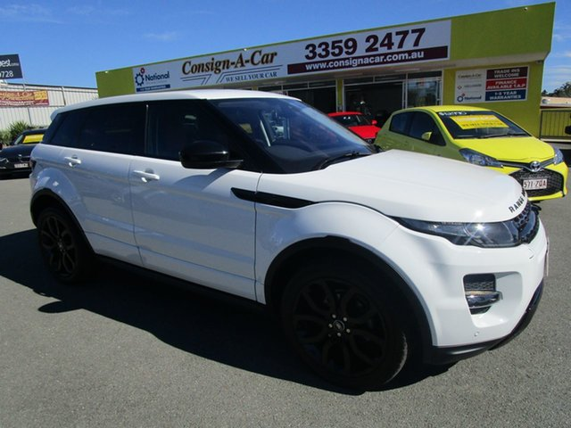 Used Land Rover Range Rover Evoque L538 MY15 SI4 Dynamic, 2015 Land Rover Range Rover Evoque L538 MY15 SI4 Dynamic White 9 Speed Sports Automatic Wagon