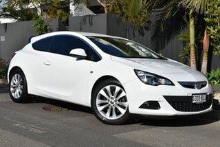 2015 Holden Astra PJ MY15.5 GTC Sport White 6 Speed Automatic Hatchback