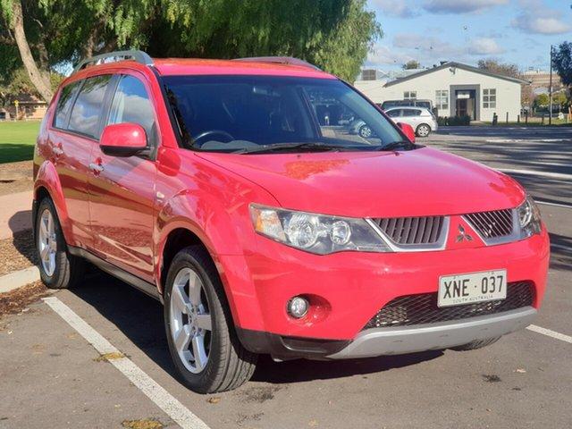 Used Mitsubishi Outlander ZG MY07 XLS, 2007 Mitsubishi Outlander ZG MY07 XLS Red 6 Speed Constant Variable Wagon