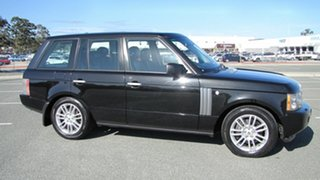 2009 Land Rover Range Rover Vogue L322 10MY TDV8 Black 6 Speed Sports Automatic Wagon.