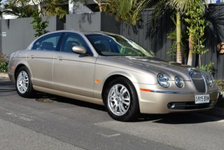 2004 Jaguar S-Type X204 SE Gold 6 Speed Automatic Sedan