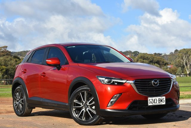 Used Mazda CX-3 DK2W76 sTouring SKYACTIV-MT, 2016 Mazda CX-3 DK2W76 sTouring SKYACTIV-MT Red 6 Speed Manual Wagon
