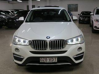 2014 BMW X4 F26 xDrive20i Coupe Steptronic White 8 Speed Automatic Wagon